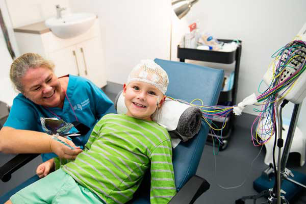 Preparing your child for an EEG